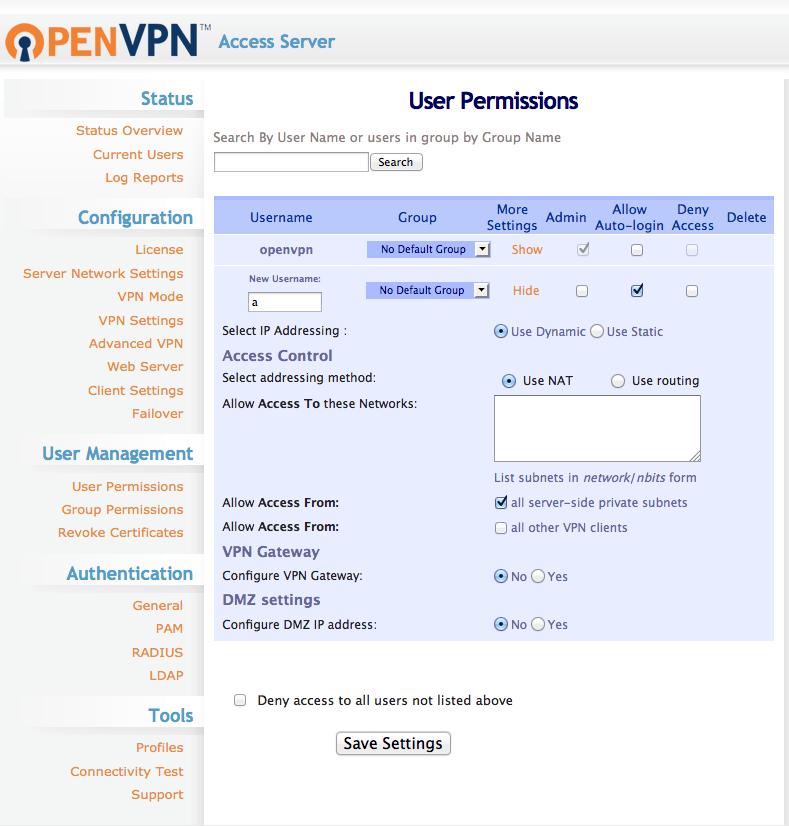 Asterisk PBX with OpenVPN