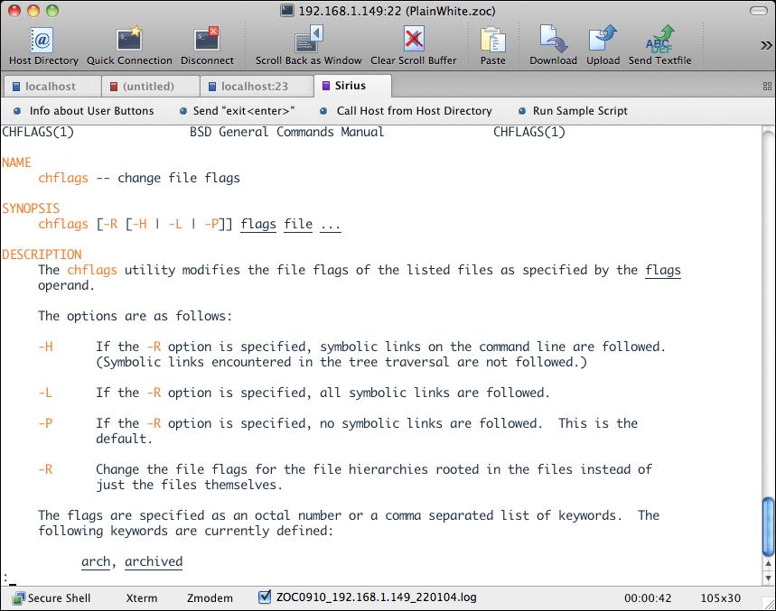 Mac OS X Serial Applications